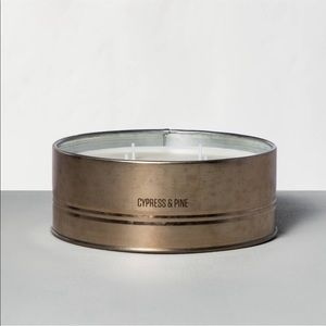 4 wick Cypress & Pine Candle